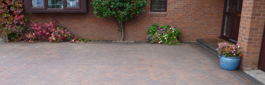 Block Paving Cleaned and Sealed Natural Matt Wirra